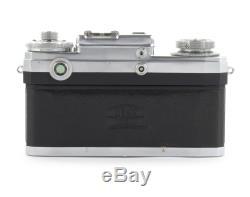 Zeiss Ikon Contax IIIa Rangefinder Camera with Boitar 21mm, Sonnar 50mm, Planar 35