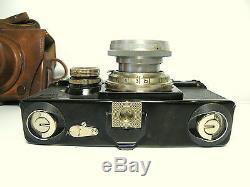 Zeiss Ikon Contax I vintage 35mm Rangefinder Camera CZJ Sonnar 12 f=5cm Lens