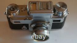 Zeiss Ikon télémétrique Contax III, 1936, objectif Sonnar rétractable f2/5 cm